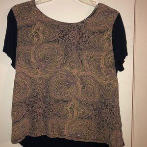 Tommy Bahama women's small silk shirt